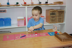 Language Lessons at Rainbow Montessori Okinawa